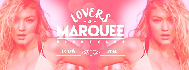 Lovers of Marquee (flyer)