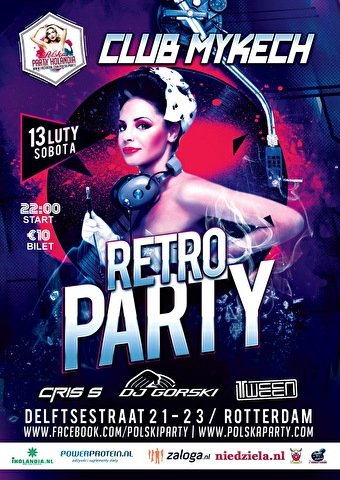 Polska Retro-Party (flyer)