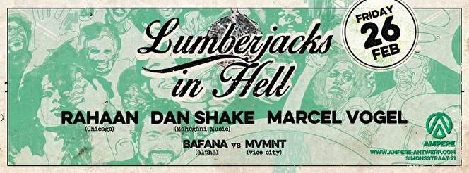 Lumberjacks in Hell (flyer)