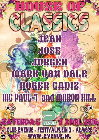 House of Classics (flyer)