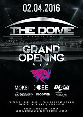 The Dome Grand Opening (flyer)