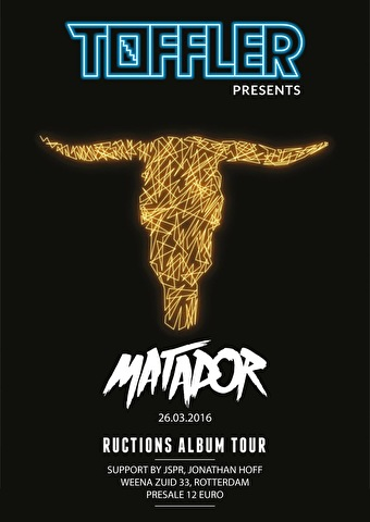 Toffler presents Matador (flyer)