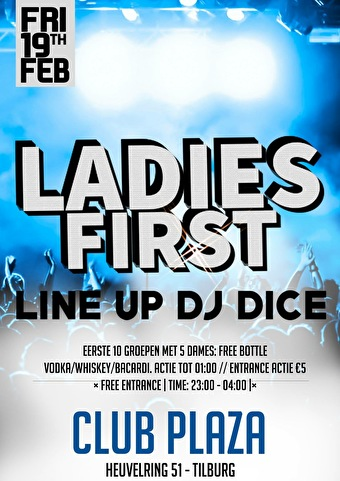 Ladies First (flyer)