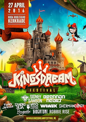 Kingsdream Festival (flyer)