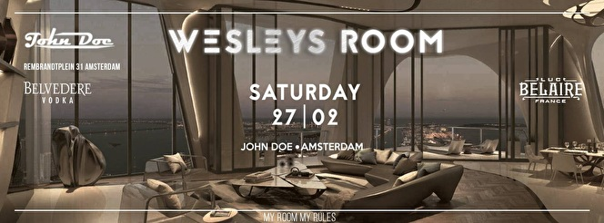 Wesleys Room (flyer)