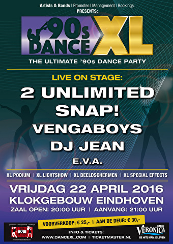 90s Dance XL (flyer)