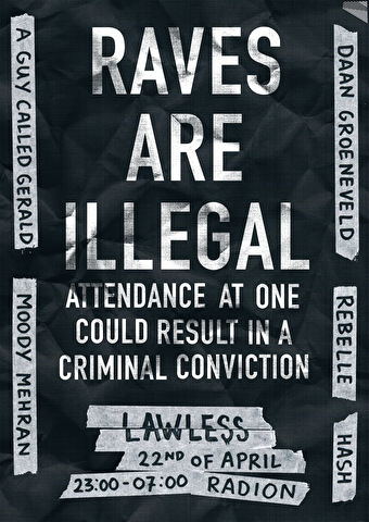 Lawless (flyer)