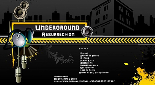 Underground Resurrection (flyer)