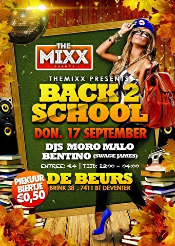 Back 2 School (flyer)