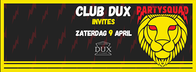 Club DUX Invites (flyer)