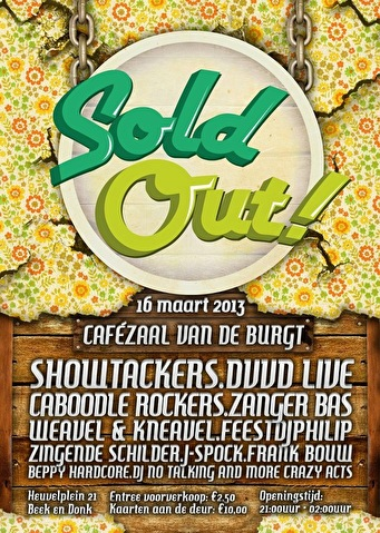 Sold Out (flyer)