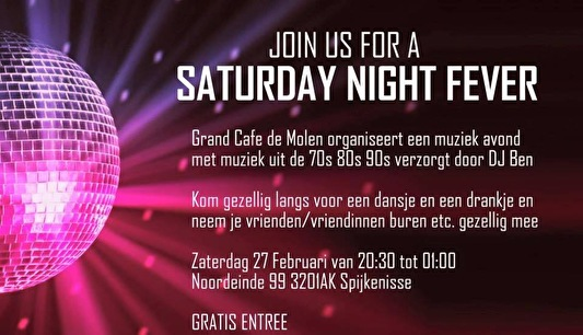 Saturday Night Fever (flyer)