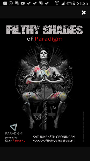 Filthy Shades of Paradigm (flyer)