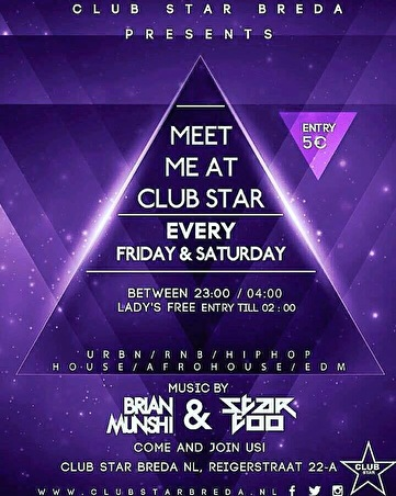 Meet me at Club Star (flyer)