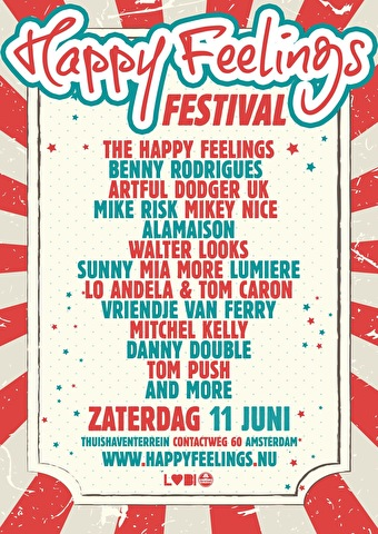 Happy Feelings Festival (flyer)