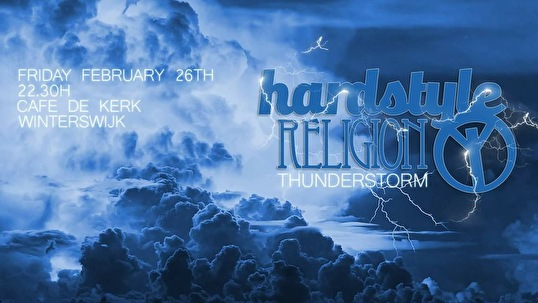 Hardstyle Religion (flyer)