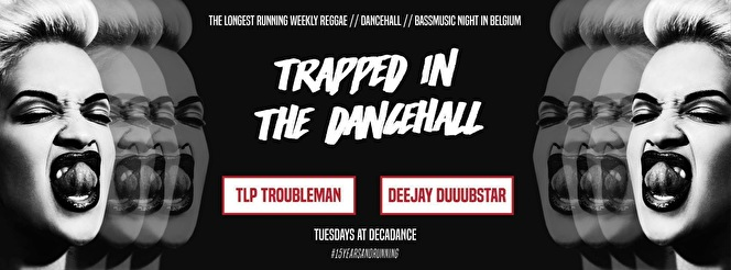 Trapped in the Dancehall (flyer)