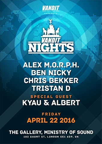 Vandit night (flyer)