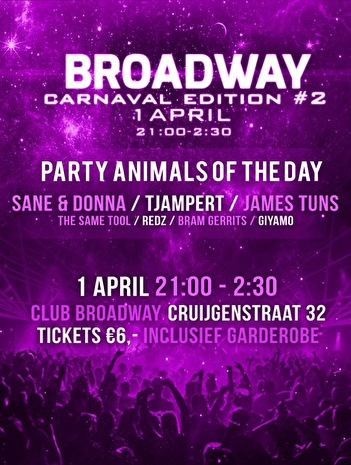 Broadway Carnaval Edition (flyer)