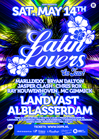 Latin Lovers on Tour (flyer)