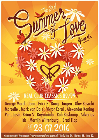 Summer of Love (flyer)