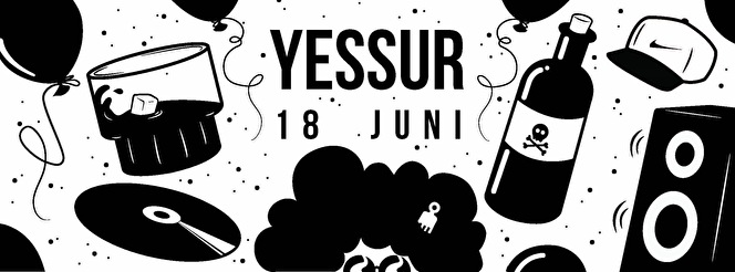 Yessur Launch Party (flyer)