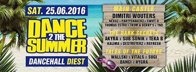 Dance 2 the summer (flyer)