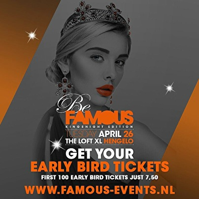 Be Famous (flyer)