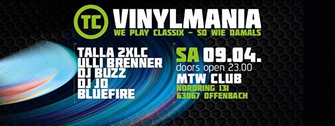 flyer TC Vinylmania