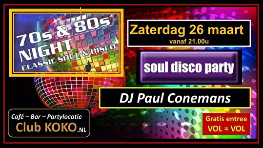 Soul-Disco Party (flyer)