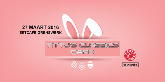 Titty's Classics Café (flyer)