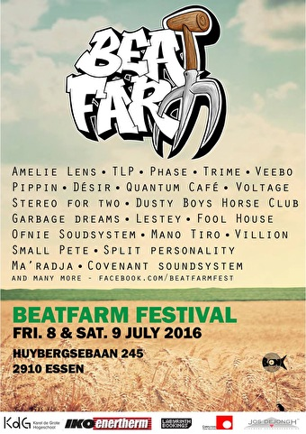 Beatfarm Festival 2016 (flyer)