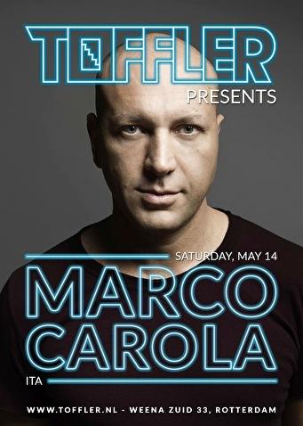 Toffler presents Marco Carola (flyer)