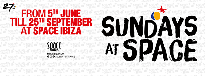 Sundays at Space (flyer)