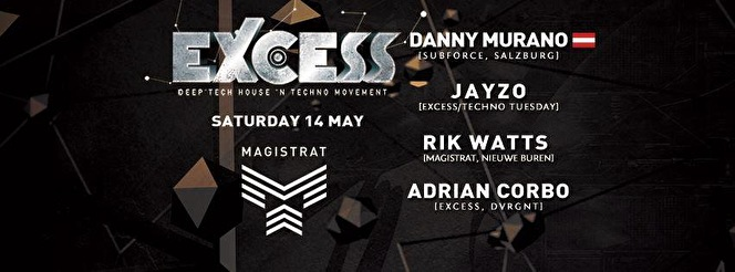 Excess The Movement (flyer)