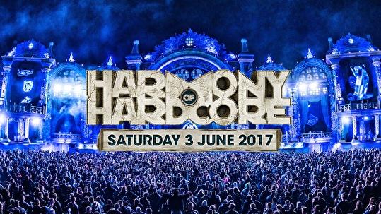 Harmony of Hardcore (flyer)