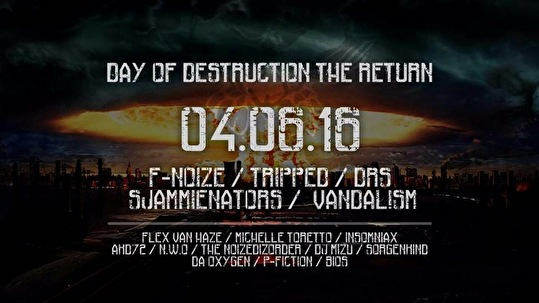 Day Of Destruction (flyer)