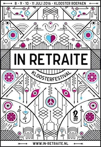 flyer In Retraite Kloosterfestival