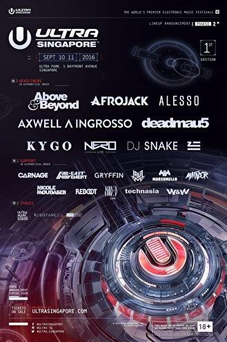 Ultra Music Festival (flyer)