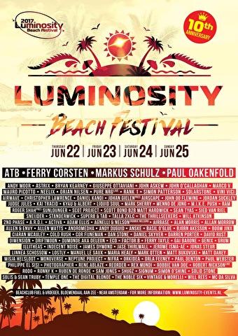 flyer Luminosity Beach Festival