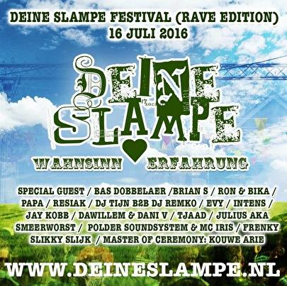 flyer Deine Slampe Festival