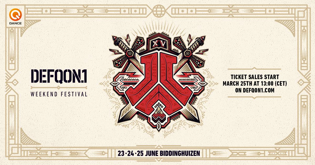 Defqon1 Weekend Festival 24 Juni 2017 Walibi Holland