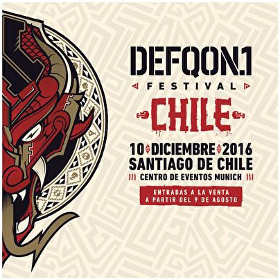 Defqon.1 Festival Chile (flyer)