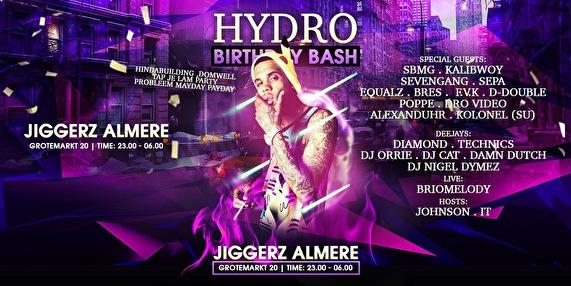 Hydro Bday Bash (flyer)
