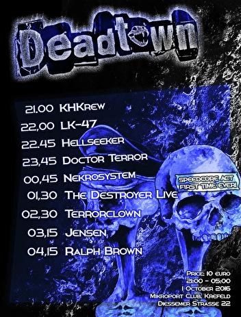 Deadtown (flyer)