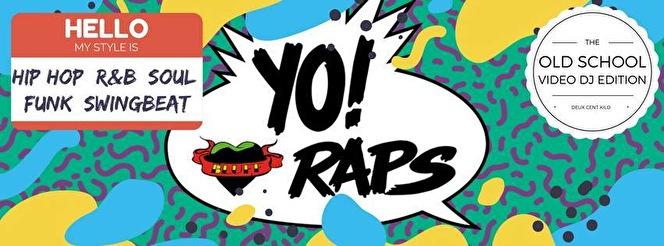 flyer Yo! Bluff Raps