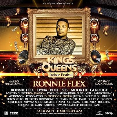 flyer Kings & Queens