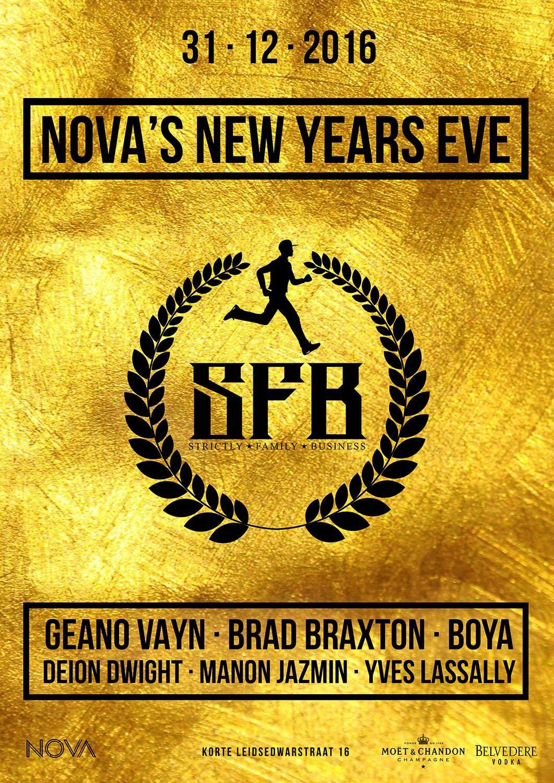 bezoekers · Nova's New Years Eve · feest