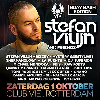 Stefan Vilijn & Friends (flyer)