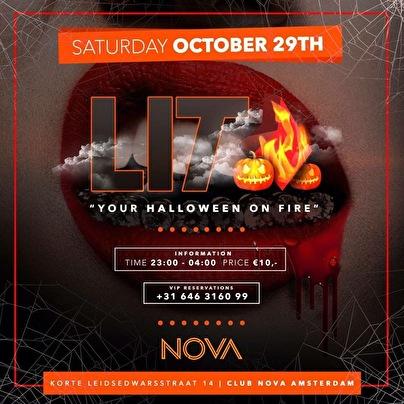 31 Oktober Halloween Amsterdam.Lit Halloween Special 29 Oktober 2016 Nova Amsterdam